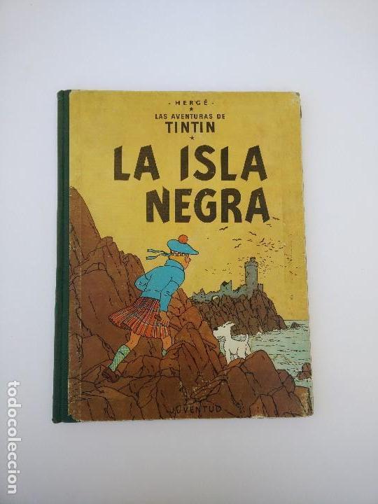 TINTIN LA ISLA NEGRA. 1ª EDICIÓN. PRIMERA EDICIÓN EN CASTELLANO (Tebeos y Comics - Juventud - Tintín)