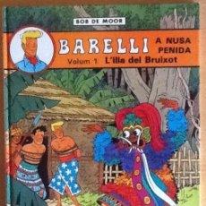Cómics: BARELLI N.1 L'ILLA DEL BRUIXOT. Lote 83893812