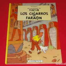 Cómics: AVENTURAS DE TINTIN. LOS CIGARROS DEL FARAÓN. TAPA DURA. C-18. Lote 83935860