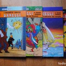 Cómics: BARELLI. 4 VOLUMS 1-4 EN BON ESTAT. ED. JOVENTUT EN CATALÀ.. Lote 84534392