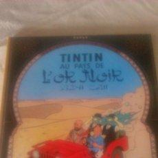 Cómics: TINTIN AU PAYS DE L´OR NOIR 1977 CASTERMAN. FRANCÉS.. Lote 84538264