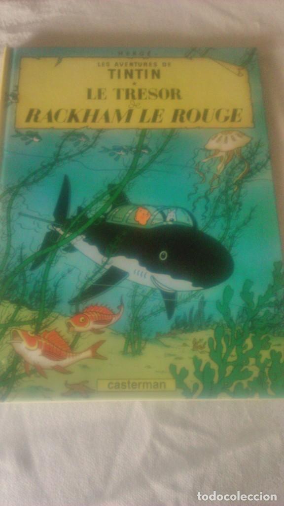 TINTIN LE TRÉSOR DE RACKHAM LE ROUGE, CASTERMAN 1973 (Tebeos y Comics - Juventud - Tintín)