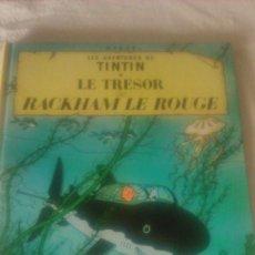 Cómics: TINTIN LE TRÉSOR DE RACKHAM LE ROUGE, CASTERMAN 1973. Lote 84538584