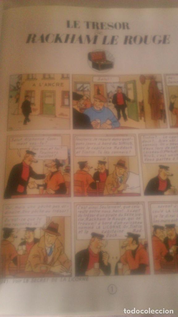 Cómics: Tintin le trésor de Rackham le rouge, Casterman 1973 - Foto 4 - 84538584
