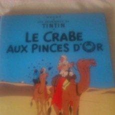 Cómics: TINTIN LECRABE AUX PINCES D´OR 1981,CASTERMAN,FRANCES. Lote 84539364