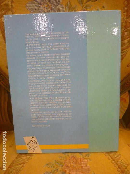 Cómics: TINTÍN Y EL ARTE-ALFA, DE HERGÉ. EDITORIAL JUVENTUD, 1ª EDICIÓN 1.987. - Foto 3 - 84661084