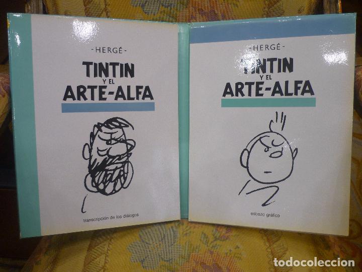 Cómics: TINTÍN Y EL ARTE-ALFA, DE HERGÉ. EDITORIAL JUVENTUD, 1ª EDICIÓN 1.987. - Foto 5 - 84661084