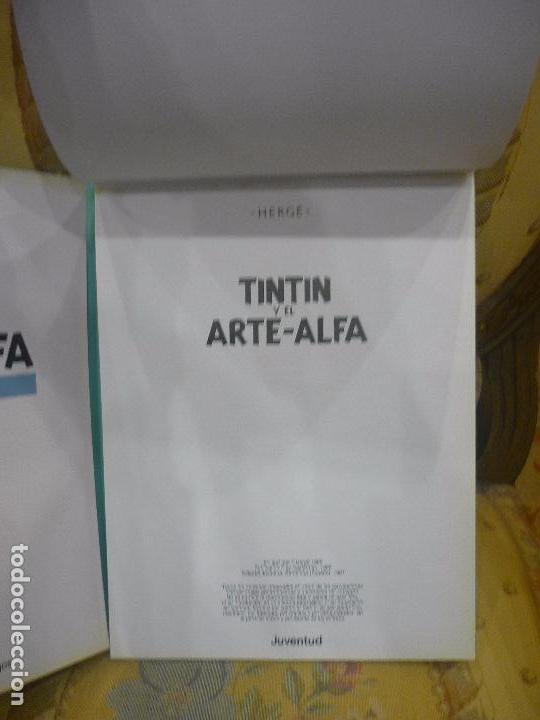 Cómics: TINTÍN Y EL ARTE-ALFA, DE HERGÉ. EDITORIAL JUVENTUD, 1ª EDICIÓN 1.987. - Foto 9 - 84661084