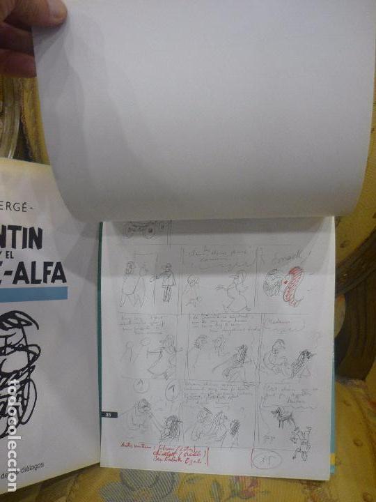 Cómics: TINTÍN Y EL ARTE-ALFA, DE HERGÉ. EDITORIAL JUVENTUD, 1ª EDICIÓN 1.987. - Foto 12 - 84661084