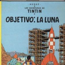 Cómics: TINTIN. OBJETIVO: LA LUNA. JUVENTUD 1989. . Lote 84675672