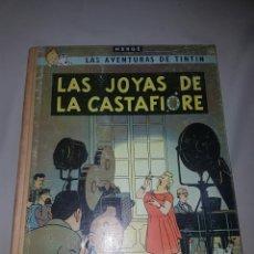 Cómics: TINTIN LAS JOYAS DE LA CASTAFIORE. JUVENTUD 2' EDICIÓN. LOMO DE TELA.. Lote 84791744
