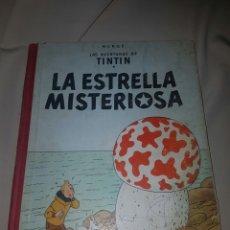 Cómics: TINTIN LA ESTRELLA MISTERIOSA. JUVENTUD 3 EDICIÓN. LOMO DE TELA.. Lote 84796951