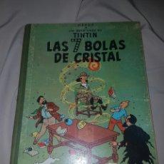 Cómics: TINTIN LAS 7 BOLAS DE CRISTAL. JUVENTUD 2 EDICIÓN. LOMO DE TELA.. Lote 84799483