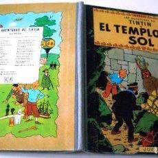 Cómics: TINTIN - EL TEMPLO DEL SOL - LOMO DE TELA - 1969. Lote 84921484