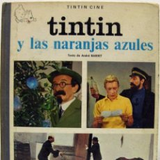 Fumetti: TINTÍN Y LAS NARANJAS AZULES. JUVENTUD, 1970.. Lote 85104840