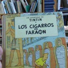 Cómics: TINTIN. LOS CIGARROS DEL FARAÓN. 2A.-EDICION. Lote 85119663