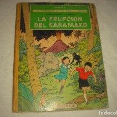 Cómics: LAS AVENTURAS DE JO, ZETTE Y JOCKO . LA ERUPCION DEL KARAMAKO .. Lote 85190356