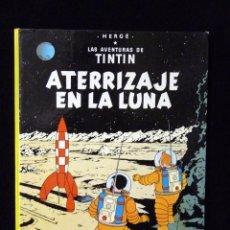 Cómics: LAS AVENTURAS DE TINTIN. ATERRIZAJE EN LA LUNA. HERGÉ. JUVENTUD 7ª ED. 1979. Lote 85342900