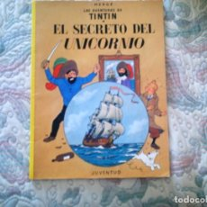 Cómics: TINTIN Y EL SECRETO DEL UNICORNIO, DE HERGE (RUSTICA/TAPA BLANDA). Lote 85516916
