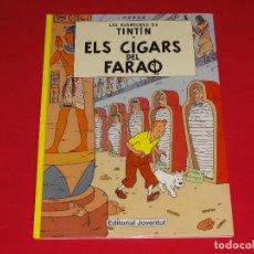 Cómics: TINTIN. ELS CIGARS DEL FARAO. EN CATALAN!!!. C-19. Lote 85694512