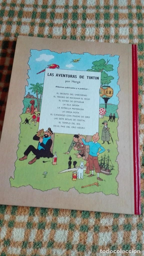 Cómics: TINTIN. EL SECRETO DEL UNICORNIO & EL TESORO DE RACKHAM EL ROJO. EDICIÓN DEL MEDALLÓN - Foto 3 - 85813496