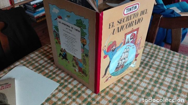 Cómics: TINTIN. EL SECRETO DEL UNICORNIO & EL TESORO DE RACKHAM EL ROJO. EDICIÓN DEL MEDALLÓN - Foto 7 - 85813496