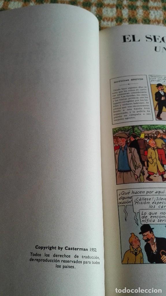 Cómics: TINTIN. EL SECRETO DEL UNICORNIO & EL TESORO DE RACKHAM EL ROJO. EDICIÓN DEL MEDALLÓN - Foto 8 - 85813496