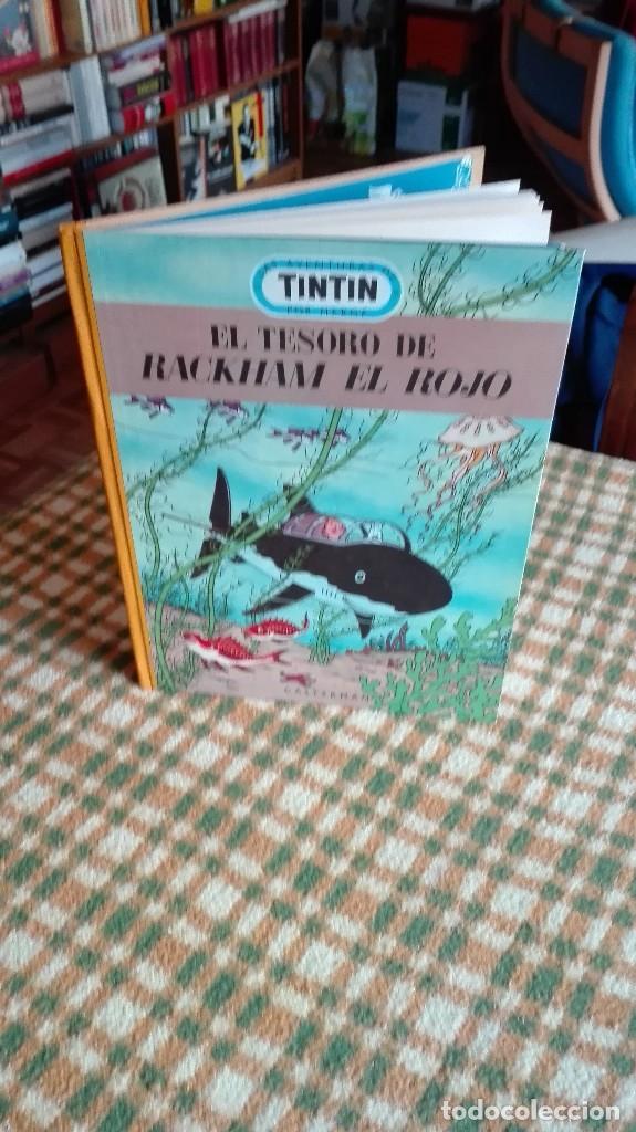 Cómics: TINTIN. EL SECRETO DEL UNICORNIO & EL TESORO DE RACKHAM EL ROJO. EDICIÓN DEL MEDALLÓN - Foto 11 - 85813496