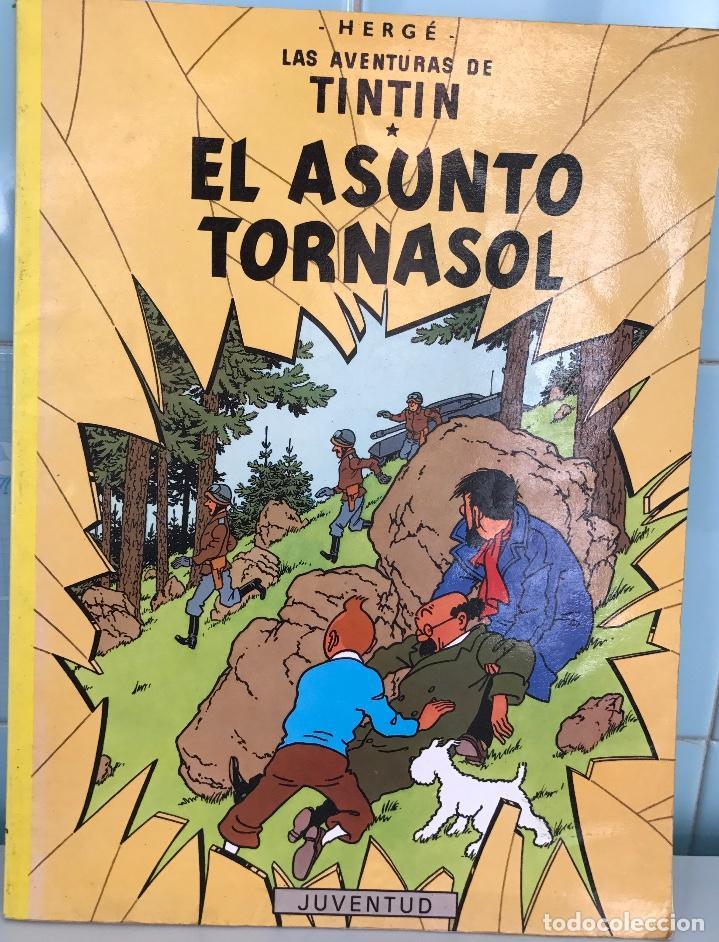 LAS AVENTURAS DE TINTÍN - EL ASUNTO TORNASOL - HERGÉ - JUVENTUD - AÑO 1989 (Tebeos y Comics - Juventud - Tintín)