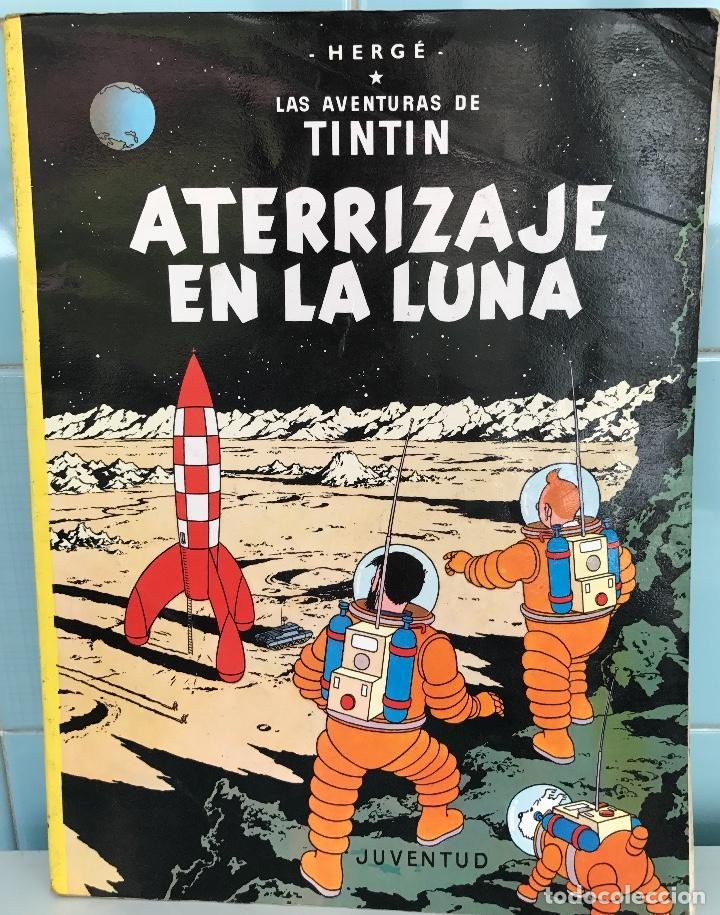 LAS AVENTURAS DE TINTIN - ATERRIZAJE EN LA LUNA - HERGÉ - JUVENTUD - AÑO1989 (Tebeos y Comics - Juventud - Tintín)