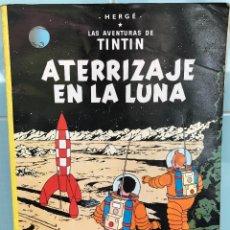 Cómics: LAS AVENTURAS DE TINTIN - ATERRIZAJE EN LA LUNA - HERGÉ - JUVENTUD - AÑO1989. Lote 86014692