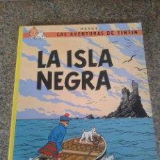Cómics: LA ISLA NEGRA -- HERGE -- JUVENTUD - 1996 -- TAPA BLANDA --. Lote 86354080