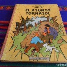 Cómics: TINTIN EL ASUNTO TORNASOL 1ª PRIMERA EDICIÓN. JUVENTUD 1961. CORRECTO. DIFÍCIL.. Lote 90231094