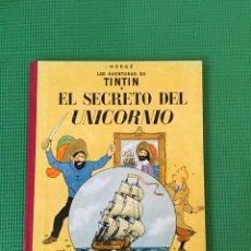 Cómics: TINTIN EL SECRETO DEL UNICORNIO - EDICIÓN DE 1986 CON LOMO DE TELA -. Lote 86466800