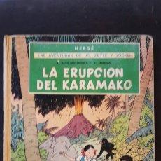 Cómics: LA ERUPCIÓN DEL KARAMAKO PRIMERA EDICION 1971. Lote 86616514