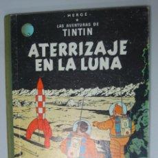 Cómics: TINTIN ATERRIZAJE EN LA LUNA CUARTA EDICIÓN 1967 LOMO TELA. Lote 86630860
