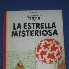 Cómics: TINTIN LA ESTRELLA MISTERIOSA TERCERA EDICIÓN 1967 LOMO TELA. Lote 86630960