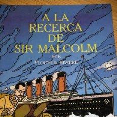 Cómics: A LA RECERCA DE SIR MALCOM, FLOCH & RIVIERE, ED. JOVENTUD, AÑO 1991, EN CATALÁN, ERCOM. Lote 87242964