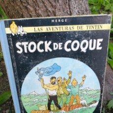 Fumetti: LAS AVENTURAS DE TINTÍN - STOCK DE COQUE - HERGÉ - JUVENTUD - AÑO 1967 - TERCERA EDICIÓN.. Lote 87475148