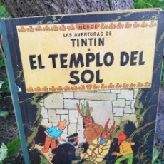 Cómics: LAS AVENTURAS DE TINTÍN - EL TEMPLO DEL SOL - HERGÉ - JUVENTUD - AÑO 1961 - PRIMERA EDICIÓN.. Lote 87476208
