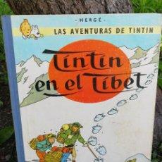 Cómics: LAS AVENTURAS DE TINTÍN - TINTÍN EN EL TÍBET - HERGÉ - JUVENTUD - AÑO 1967 - TERCERA EDICIÓN.. Lote 87477492