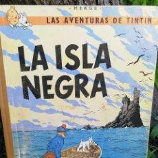 Cómics: LAS AVENTURAS DE TINTÍN - LA ISLA NEGRA - HERGÉ - JUVENTUD - AÑO 1967 - SEGUNDA EDICIÓN.. Lote 87478092