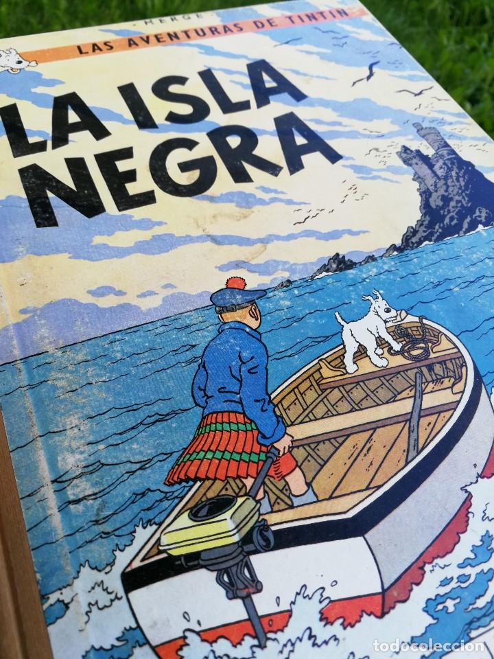 las aventuras de tintín - la isla negra - hergé - Comprar
