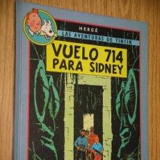 Cómics: TINTIN, ÁLBUM DOBLE, VUELO 714 PARA SIDNEY + LOS PICAROS, HERGÉ, ED CIRCULO, AÑO 1993. Lote 87576048