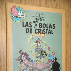 Cómics: TINTIN, ÁLBUM DOBLE, LAS 7 BOLAS DE CRISTAL + EL TEMPLO DEL SOL, HERGÉ, ED CIRCULO, AÑO 1993. Lote 245584060