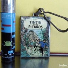 Cómics: LLAVERO DE TINTIN - TINTIN ET LES PÍCAROS - PARA COLECCIONISTAS © HERGE . Lote 87917160