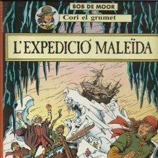 Cómics: CORI EL GRUMET: LA EXPEDICIÓ MALEÏDA, 1989, PRIMERA EDICIÓN IMPECABLE. Lote 88085400