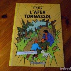 Cómics: L'AFER TORNASSOL - TINTIN - HERGÉ - EDITORIAL JOVENTUT - NOVENA EDICIÓ 1989. Lote 88862896