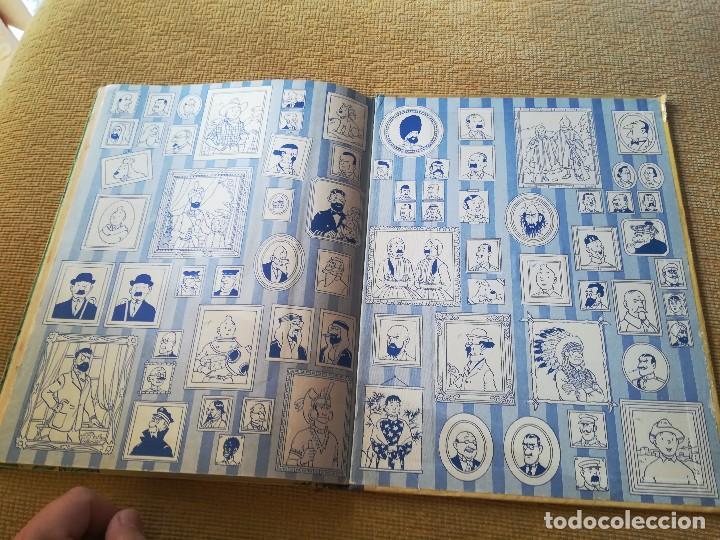 Cómics: LAS AVENTURAS DE TINTIN - EL TESORO DE RACKHAM EL ROJO ,EDT JUVENTUD 4 EDC 1971 - Foto 2 - 89039156