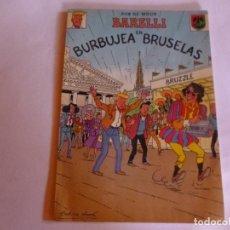Cómics: BARELLI EN BURBUJEA EN BRUSELAS, BOB DE MOOR. RÚSTICA. RARO.. Lote 89072584